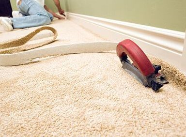 Carpet Repair and Reinstall